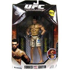 UFC UFC Collection Series 1 Forrest Griffin Action Figure [UFC 76], Multicolor