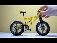 Lego Technic Bicycle - MTB Moc - Yellow - please vote on Lego Cuusoo