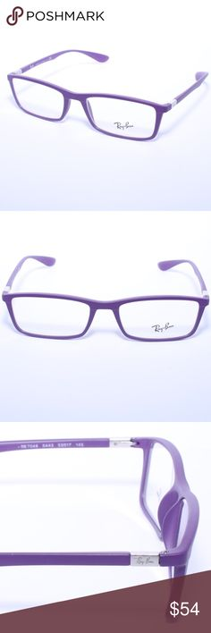 ed948bab1f RAY BAN Eyeglasses RB 7048 5443 Purple