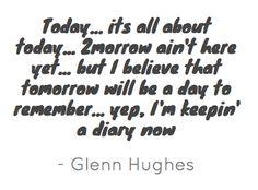 ~ Glenn Hughes @glenn_hughes ~ January 24th, 2012