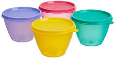 Buy Tupperware Bowled Over Set, Set of 4 Online at Low Prices in India - Amazon.in
