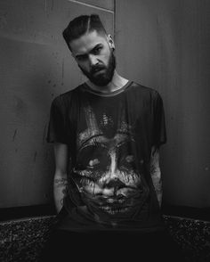 """Damned In Black"" Tee available at www.crmc-clothing.co.uk 
