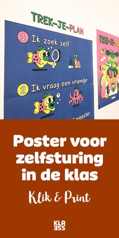 Trek-je-plan: poster voor zelfsturing in de klas – Klasse Educational Leadership, Educational Technology, Learning Quotes, Education Quotes, High School Counseling, Growth Mindset Quotes, Visible Learning, Co Teaching, Classroom Board