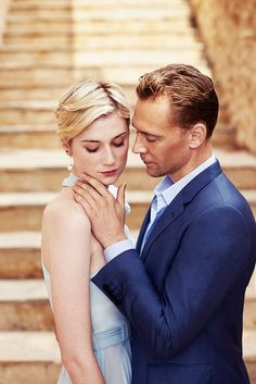 Tom Hiddleston and Elizabeth Debicki by Mitch Jenkins for The Night Manager
