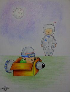 Dibujo, ilustraciones (proyecto para libro 2016).