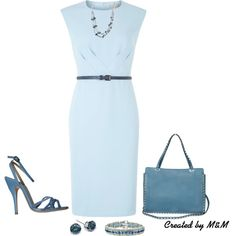 """~THURSDAY AT THE OFFICE~"" by marion-fashionista-diva-miller on Polyvore"