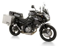 Suzuki V-Strom 1000 with Touratech complements. It will take some time to get it done, but watch out world. Touring Motorcycles, Old Motorcycles, Vstrom 1000, Klr 650, Bike Trails, Biking, Off Road Racing, Off Road Adventure, Motorcycle Gear