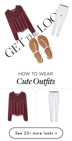 """""""A cute spring outfit"""" by j2jballard on Polyvore featuring MANGO and Aéropostale"""