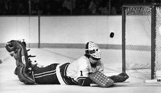 Gary Smith with the Canucks, mid 1970's.