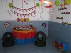 a boy´s 4th birthday  Birthday - Disney Cars