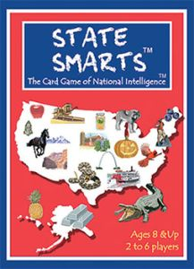 State Smarts™ is a U.S. geography card game that is both educational and fun for children yet is also entertaining and challenging enough for adults. In addition to state specific facts, kids will also learn unique characteristics about each region of the country. The game also teaches state and landmark location as well as state abbreviations. State Smarts™ is more than just a game of learning, it's also a competitive game of strategy that the whole family can enjoy. Experienced players ...