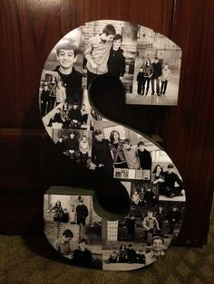 DIY Photo Letters, Creative DIY Photo Craft Ideas, http://hative.com/creative-diy-photo-craft-ideas/,