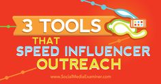 3 Tools That Speed Influencer Outreach - http://www.socialmediaexaminer.com/3-tools-that-speed-influencer-outreach?utm_source=rss&utm_medium=Friendly Connect&utm_campaign=RSS @smexaminer