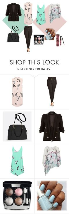 """""""Spring edition"""" by marijana-vitas on Polyvore featuring WearAll, City Chic, Avenue, River Island, Chanel and Kylie Cosmetics"""