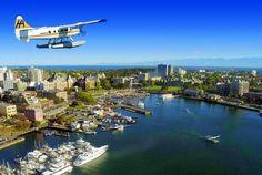 Aerial view of Victoria (Destination BC)