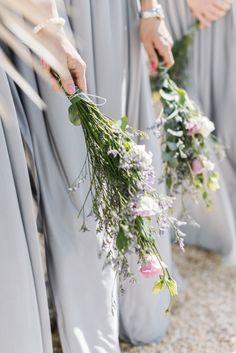 Arm sheaf bouquet: http://www.stylemepretty.com/destination-weddings/2015/05/04/bohemian-beach-wedding-in-ibiza/   Photography: Ana Lui - http://analuiphotography.com/