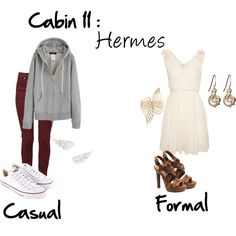 """""""Cabin 11: Hermes"""" by idmiliris on Polyvore"""