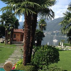 A sunny day in Ascona - View from the hotel Eden Roc Hotel Eden, Sunny Days, Switzerland, Golf Courses