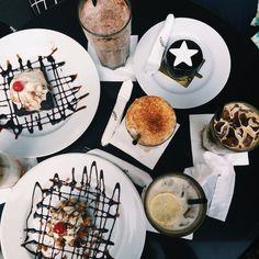 Eat dessert in the evening❤️