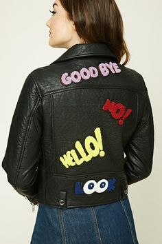 Goodbye Patch Moto Jacket