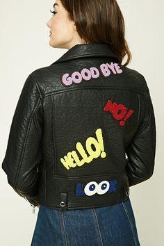 Goodbye Patch Moto Jacket