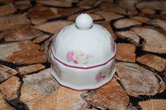 Vintage Blumen Porzellan Dösschen von Monellabella auf DaWanda.com