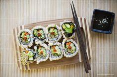 gluten free vegan sushi roll recipe   lazy susan – april 2012 » eat swell