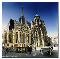 medieval architecture-Vienna Cathedral
