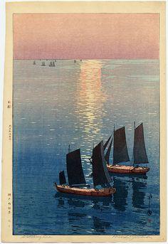 """""""Glittering Sea"""" by Yoshida, Hiroshi"""