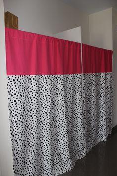 Custom closet dorm panels add a monogram to the top! Sorority and Dorm Room Bedding and Decor