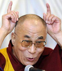 Dali Lama -  super cool