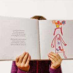 ¡ilústralo tú! Books, White Paper, Libros, Illustrations, Sombreros, Book, Book Illustrations, Libri