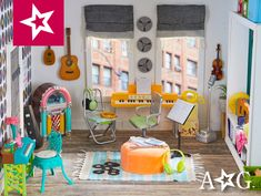 Make playtime more fun with American Girl doll accessories and doll furniture including pets, food, furniture, storage accessories and much more! All American Girl Dolls, American Girl Doll Costumes, American Girl House, American Girl Parties, American Girl Crafts, American Doll Clothes, Ag Doll House, Doll Houses, Anerican Girl