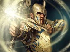 Warrior Archer Elves Guardians of Middle Earth Haldir Armor Helmet Games Fantasy elf lotr lord rings wallpaper background