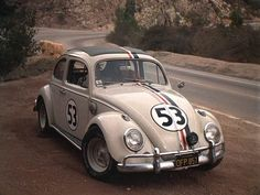 "Famous Cars 1963 Volkswagen Beetle...aka ""Herbie the Love Bug"""