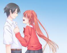 Ayato Aishi x Osana Najimi Yandere Manga, Ayato, Yandere Simulator, Tsundere, Sims, Fan Art, Character, Minecraft, Video Games