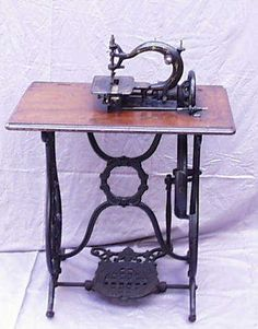 Antique Treadle Sewing Machine Manufacturers by Nell