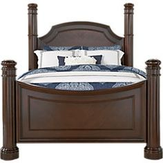 Dumont Cherry 5 Pc Queen Low Poster Bedroomu0026nbsp;. $1,499.99. Find Affordable  Bedroom Sets