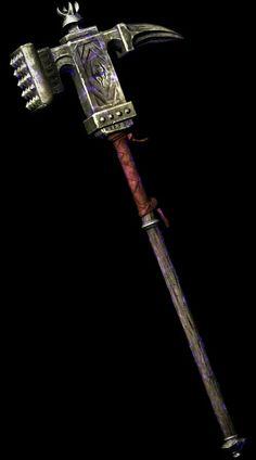 Champion's Cudgel (Dragonborn DLC)  BASE DAMAGE::24Weight::27BASE…