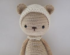 Pemberley, the Bear - Crochet Pattern by { Amour Fou }