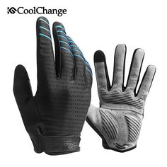 Cheap bicycle gloves, Buy Quality gloves full directly from China cycling gloves Suppliers: CoolChange Cycling Gloves Full Finger Shockproof MTB Road Bike Touch Screen Gloves Man&Woman Bicycle Glove Luva Ciclismo Bike Gloves, Cycling Gloves, Mens Gloves, Finger, Cycle Ride, Workout Gloves, Bicycle Women, Bicycle Maintenance, Cool Bike Accessories