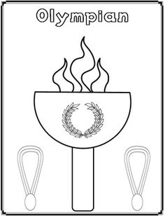 12 olympic games coloring pages - Print Color Craft Olympic Idea, Olympic Sports, Olympic Games, Olympic Gymnastics, 2018 Winter Olympics, Special Olympics, Olympic Crafts, Thinking Day, Creation Couture
