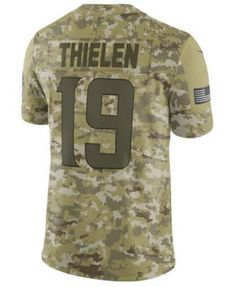 3886816606d Men's Adam Thielen Minnesota Vikings Salute To Service Jersey 2018. Todd  GurleySalute To ServiceMinnesota VikingsTeam NamesDallas CowboysSports Fan  ShopNike ...