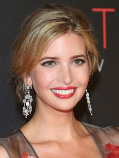Ivanka Trump | Love her style, class and LOVE her jewelry line! She's a fashion designer, mom, and Trumps right hand woman! Love a strong woman!
