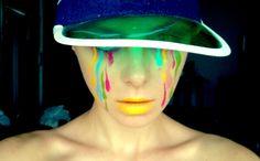 rainbow tears photo & makeup: diana ionescu