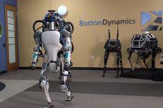 Niesamowity - taki jest robot Atlas w nowej wersji