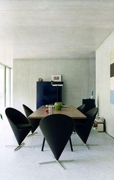 Fauteuil contemporain / en tissu / par Verner Panton LIVING TOWER ...