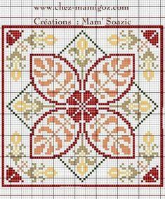 Biscornu Cross Stitch, Cross Stitch Pillow, Cross Stitch Borders, Cross Stitch Art, Cross Stitch Alphabet, Cross Stitch Flowers, Cross Stitch Designs, Cross Stitching, Cross Stitch Embroidery