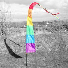 dont lose your tent with this bright floaty flag