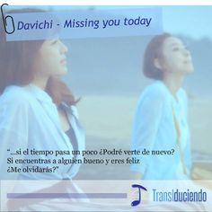 Davichi - Missing you today KPop